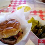Brisket sandwich, Rudy's in Colorado Springs