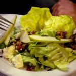 Pear salad, Ritz Grill, Colorado Springs