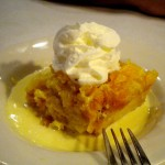 Bread pudding, Ritz Grill, Colorado Springs