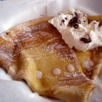 Nutella and coconut crepe, Paris Crepe, Colorado Springs