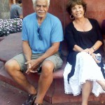 Mom and dad on Pearl Street, Boulder, CO