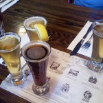 Beer tasting at Coopersmith's Brew Pub in Ft. Collins, CO