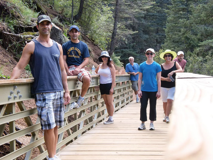 Family picture, Cheyenne Canyon, Colorado Springs