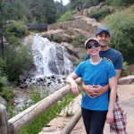 Sarah and David, Helen Hunt Falls, Colorado Springs