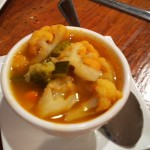 Minestrone soup from Antica Roma Trattoria, Boulder, CO