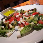 Salad from Antica Roma Trattoria, Boulder, CO