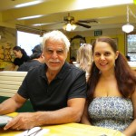 Me and dad at The Omlette Parlor, Colorado Springs