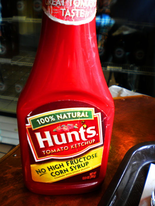 Hunt's Ketchup no longer uses high fructose corn syrup.