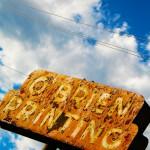 Old sign, Colorado Springs, 2010