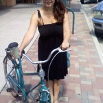 Bike ride, downtown Colorado Springs, Sept. 2010