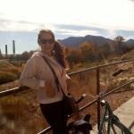 Bike ride in Monument Valley Park, Colorado Springs, summer 2010