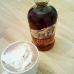Bourbon hot chocolate, November 2010