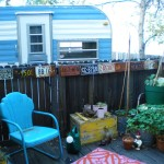 Our deck and trailer, summer 2010