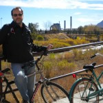 Bike ride, Monument Valley Park, Colorado Springs 2010