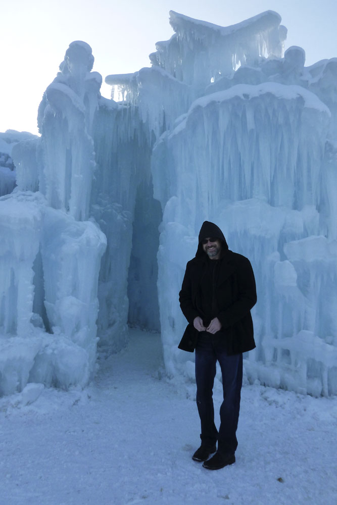 Ice Castles at Silverthorne, CO.