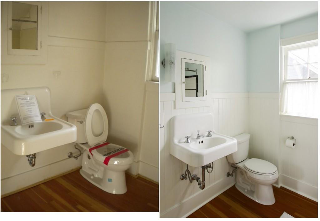 All white bathroom
