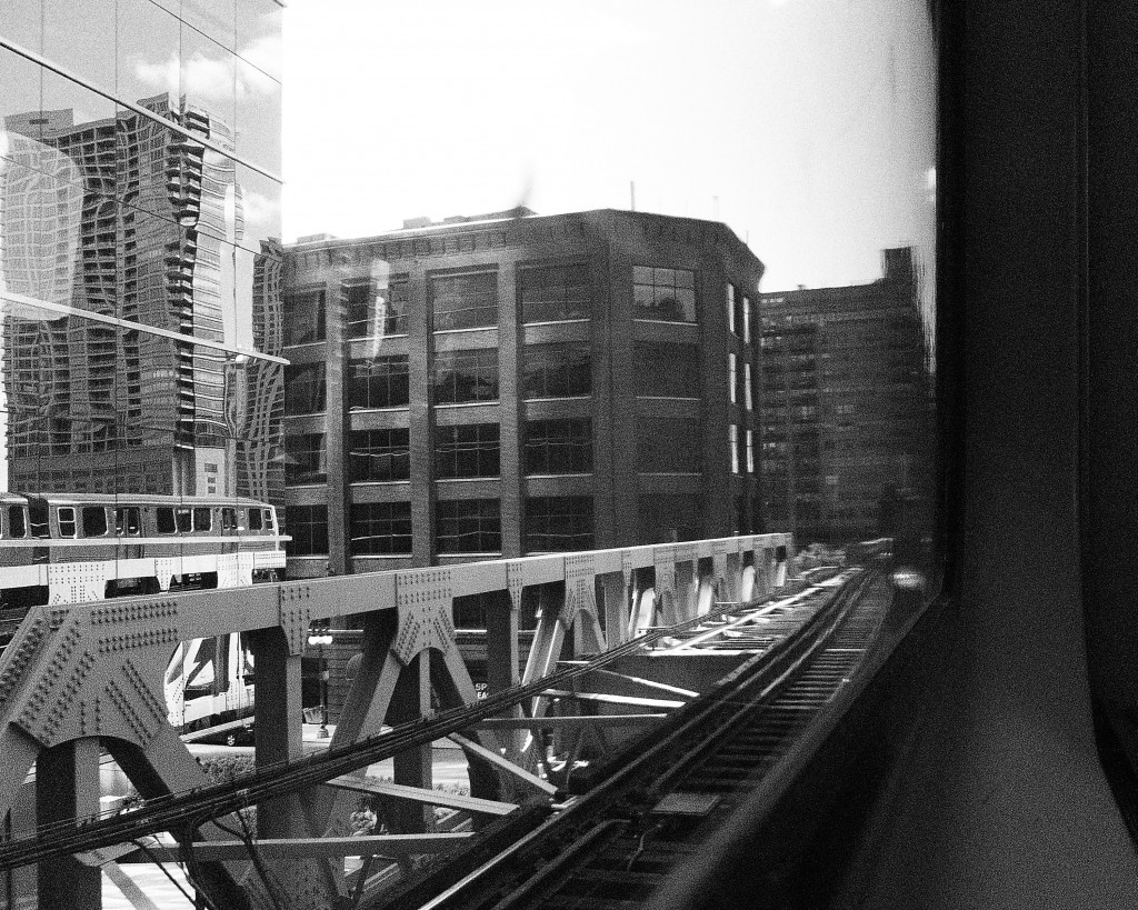 chicago's loop from the l