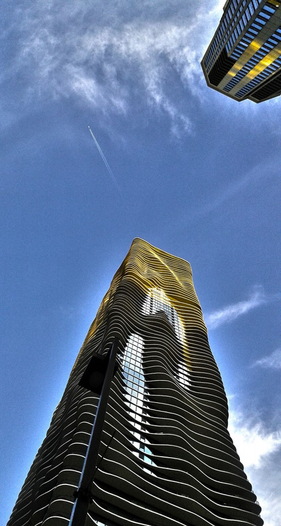 Aqua Building. Chicago