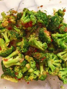 Simple and delicious roasted broccoli recipe