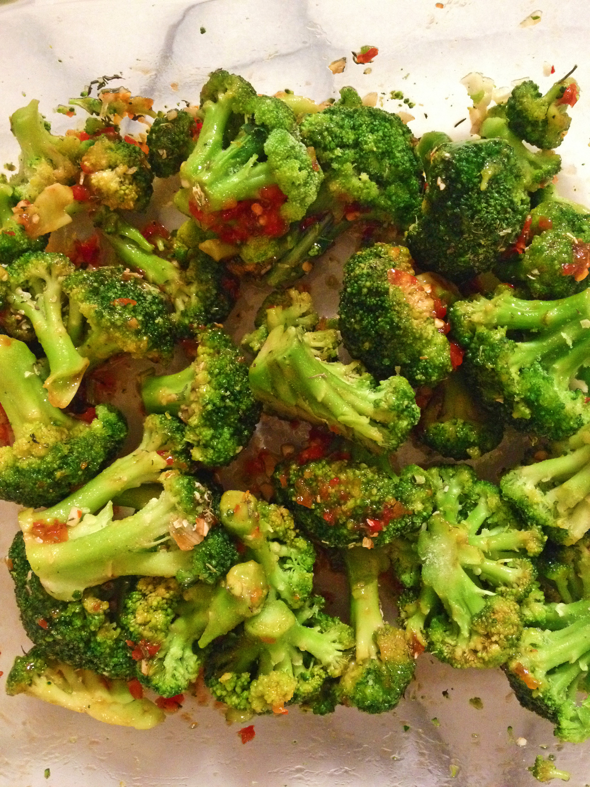 simple and delicious roasted broccoli recipe- you'll never make it your old way again!